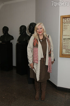 Ирина Мирошниченко на празновании 115-летия МХТ им. Чехова