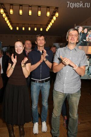 Дарья Мороз на празновании 115-летия МХТ им. Чехова
