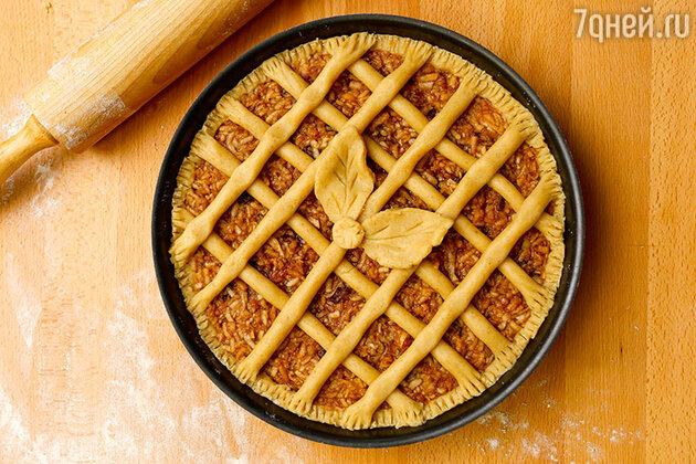 Пирог с чечевицей