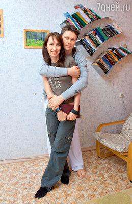Денис Рожков с супругой Ириной