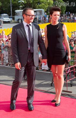 Андрей Звягинцев с супругой