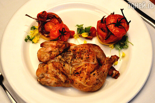 Курица в ямайском маринаде джерк
