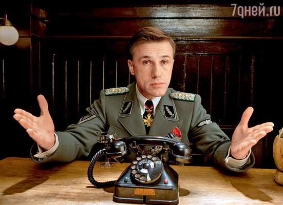 Тарантино категорически отказывался начинать съемки «Бесславных ублюдков», пока не нашел актера на роль полковника Ланда