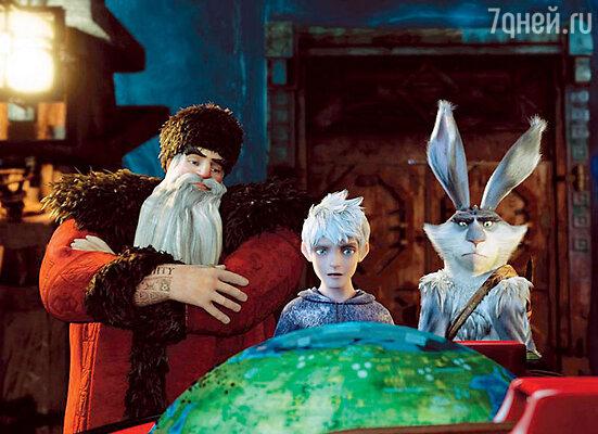 Кадр из мультфильма «Хранители снов», где Алек Болдуин озвучивает Санта-Клауса