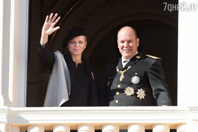 Шарлет Уиттсток и князь Альбер
