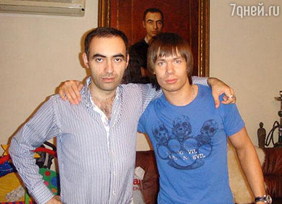 Зираддин  Рзаев и Стас Пьеха