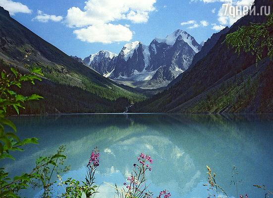 Район озера Байкал и Горный Алтай. Посещение этих мест продляет жизнь человека