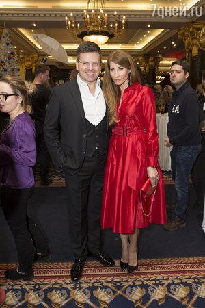 Константин Андрикопулос с женой Ольгой