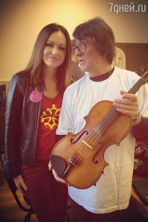 Ирина Безрукова и Юрий Башмет