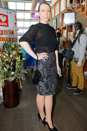 Яна Чурикова на официальной pre-party конкурса  «Евровидение»