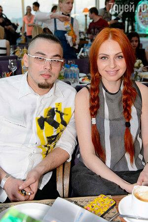 Ирина Забияка на официальной pre-party конкурса  «Евровидение»