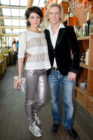 Анастасия Макеева и Глеб Матвейчук на официальной pre-party конкурса  «Евровидение»