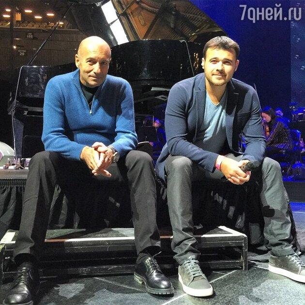 Игорь Крутой и Эмин Агаларов