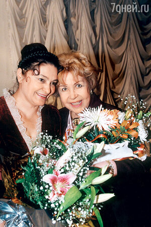 Наталья Бондарчук и Инна Макарова