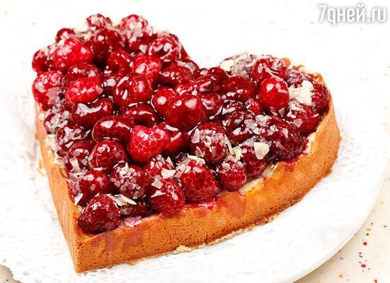 Пирог «Влюбленные»
