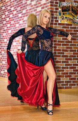 Этот костюм для танго актриса придумала сама