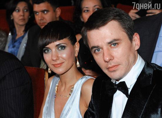 Актриса Екатрина Климова и актер Алексей Петренко