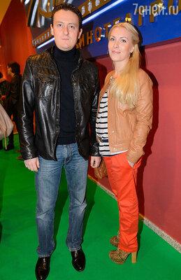 Стас Ярушин с супругой
