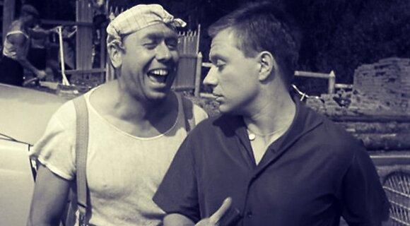 Папанов и Миронов в фильме «Берегись автомобиля»