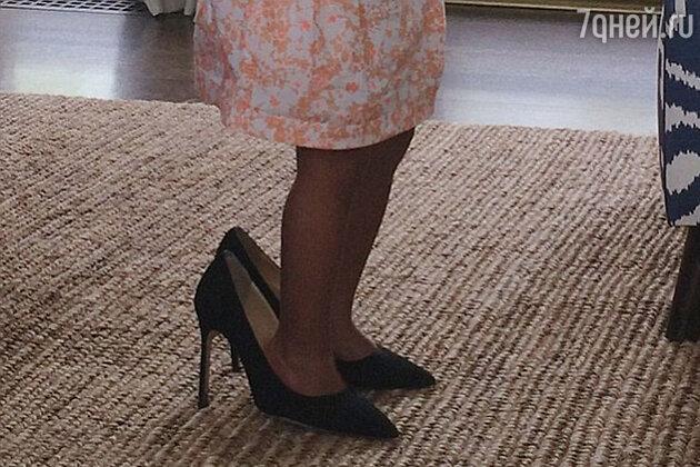 Блю Айви в маминых туфлях
