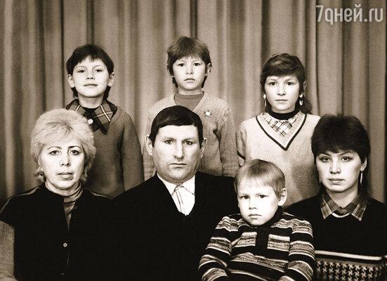 Семья Натальи Рагозиной