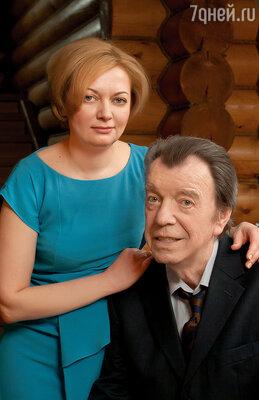 Вячеслав Шалевич с женой Татьяной
