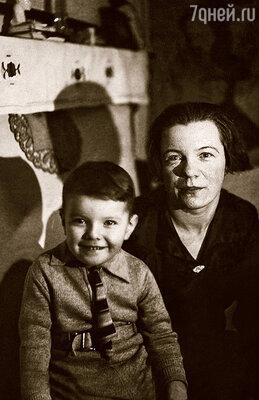 С мамой Еленой Ивановной