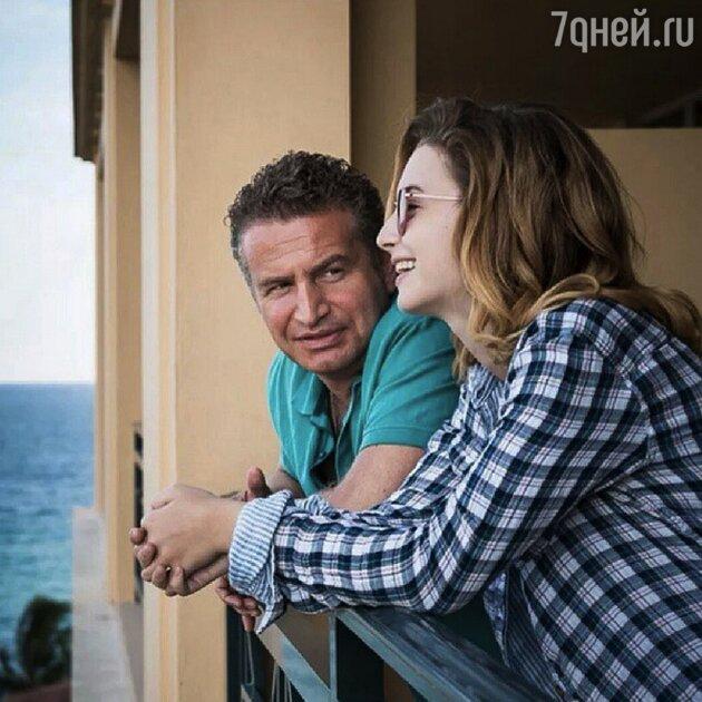 Леонид Агутин с Лизой