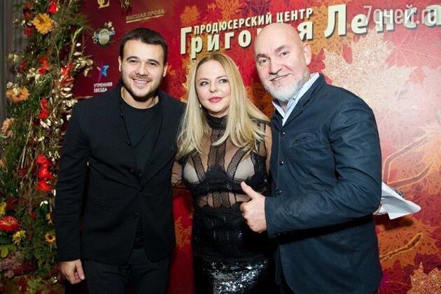 Эмин Агаларов, Майя Серикова и Сергей Кожевников
