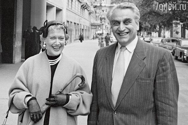 Любовь Орлова с Григорием Александровым. Вена, 1962 г.