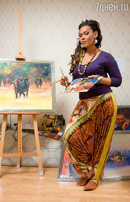 5 марта состоится выставка «Хаотичные мысли донны Корнелии» певицы и художницы Корнелии Манго