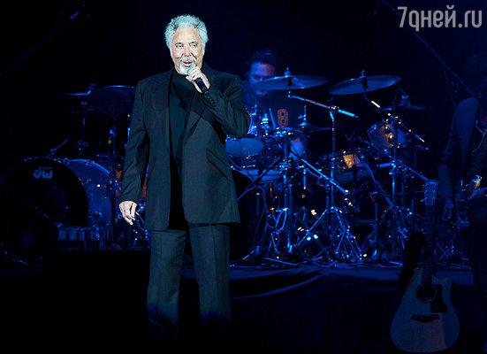 7 марта пройдет концерт Тома Джонса
