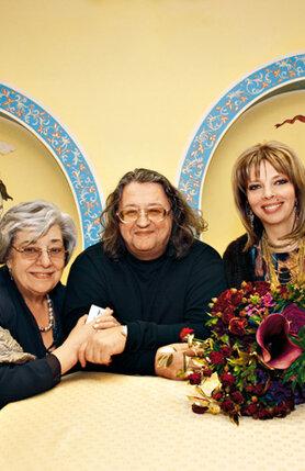 Александр Градский, Екатерина Рождественская и ее мама Алла Киреева