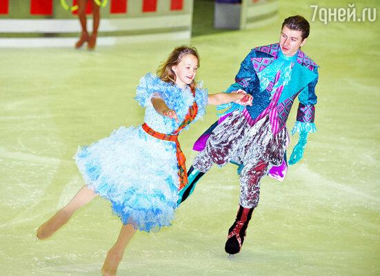 Мария Ковалева и Алексей Ягудин