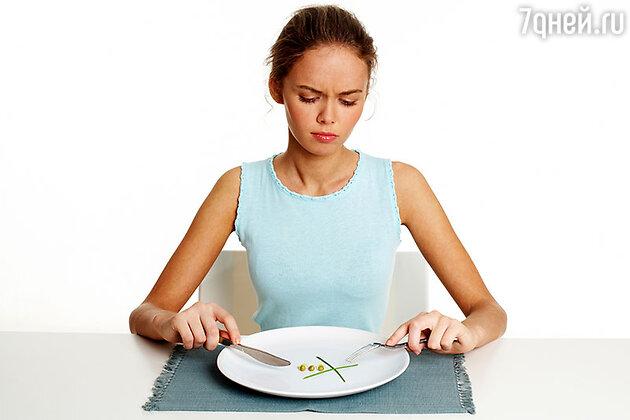 Как не довести себя до анорексии