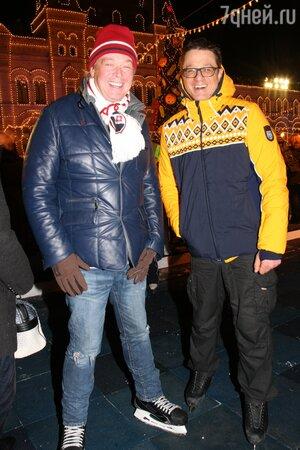 Александр Стриженов и Алексей Макаров