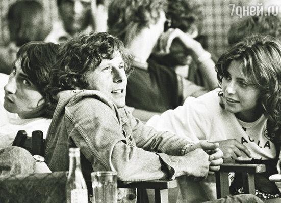 Будущие мировые знаменитости: Рэйчел Уорд и Роман Полански в Сан-Тропе, 1971 г.