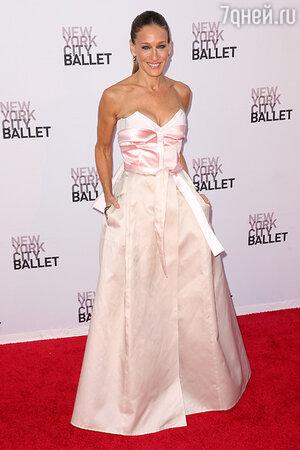 Сара Джессика Паркер на New York City Ballet, Линкольн-Центр, сентябрь 2013 года