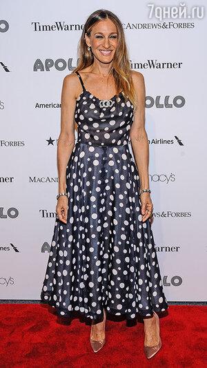 Сара Джессика Паркер.  Apollo Gala, Нью-Йорк, июнь 2013 года