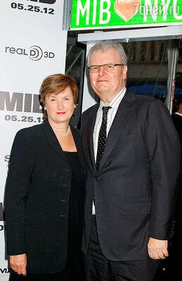 Сэр Говард Стрингер с супругой