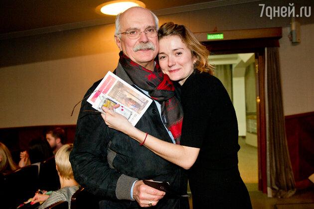Никита Михалков, Надежда Михалкова