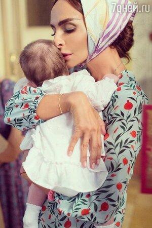 Екатерина Варнава с дочерью