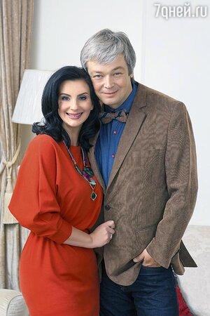 Александр и Екатерина Стриженовы. 2014 г.