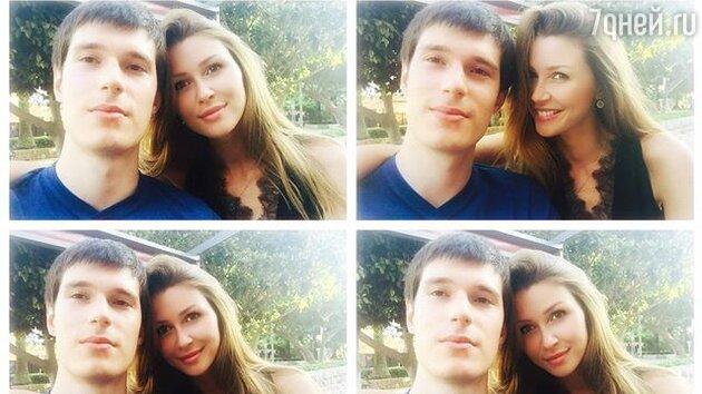 Анна Заворотнюк с Мансуром