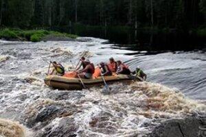 Экстремальный сплав по реке Шуя (Карелия)