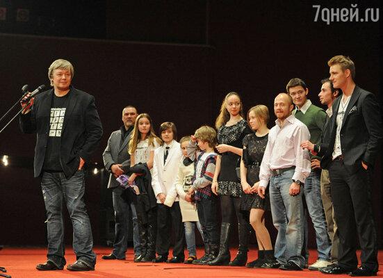 Премьера фильма «Самоубийцы» режиссера Егора Баранова в кинотеатре «Октябрь»