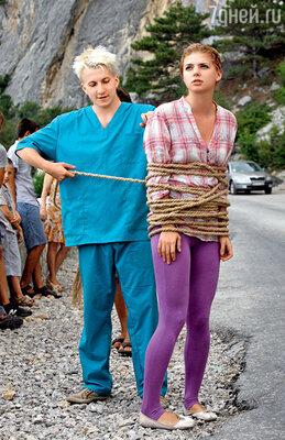 Шаракоис и Задорожная репетируют сцены, знакомые каждому зрителю