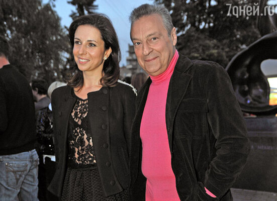 Актриса Алиса Хазанова с отцом Геннадием Хазановым