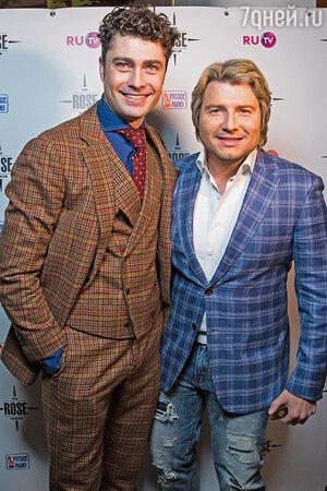 Дмитрий Оленин и Николай Басков