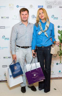 Алексей Немов с супругой Ольгой